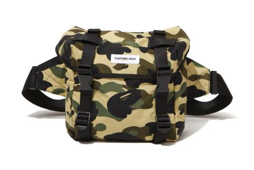 Bape Camo Backpack & Waistpack