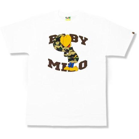 Bape Comic Milo Tee Collection