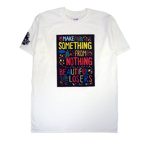 beautiful losers x xlarge t shirt