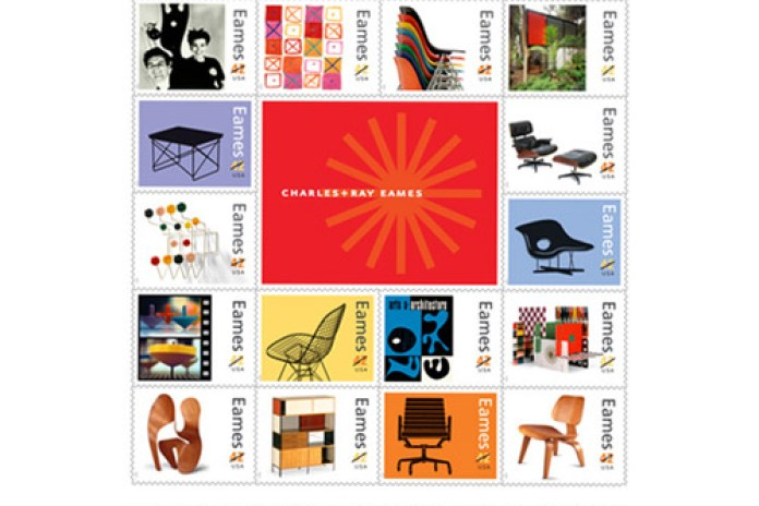 Charles & Ray Eames United States Postal Service Stamps