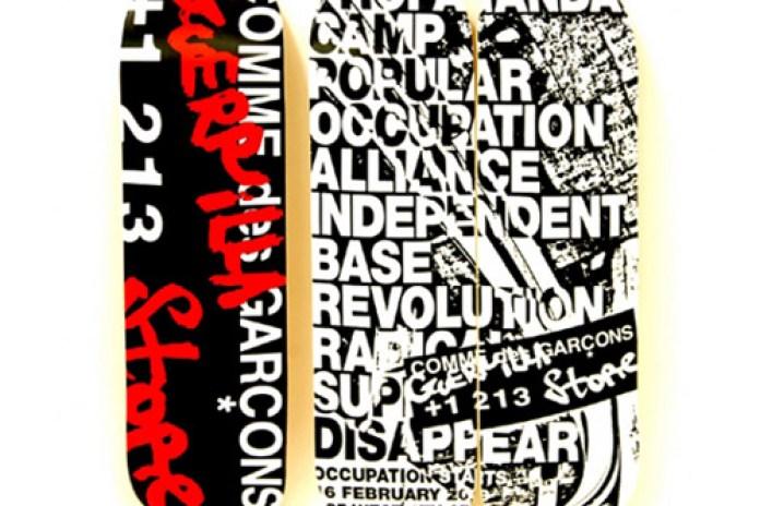 COMME des GARCONS LA Guerrilla Store Skate Decks