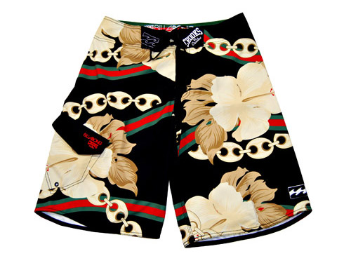 Crooks & Castles x Billabong Board Shorts