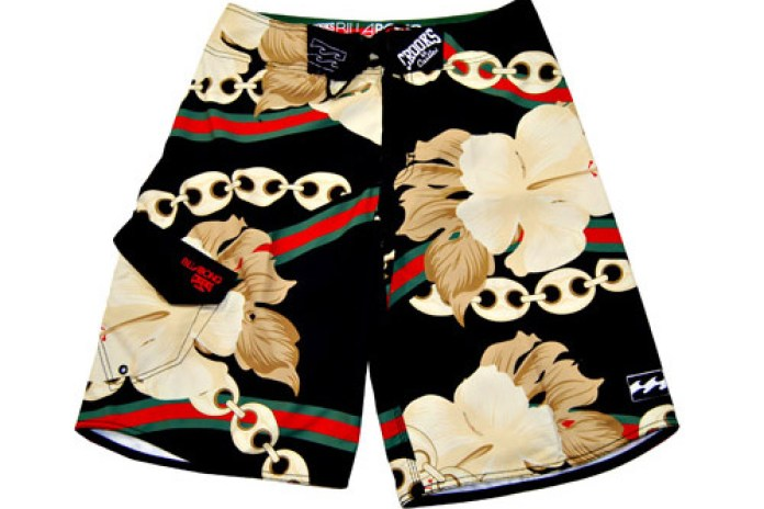 Crooks & Castles x Billabong Board Shorts