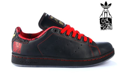 Upper Playground x adidas Originals Stan Smith: David Choe