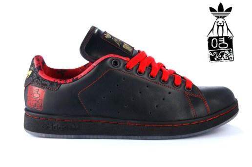 Upper Playground x adidas Originals Stan Smith: David Choe