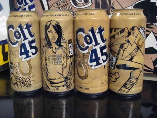 Food One x Colt 45 Artist Series
