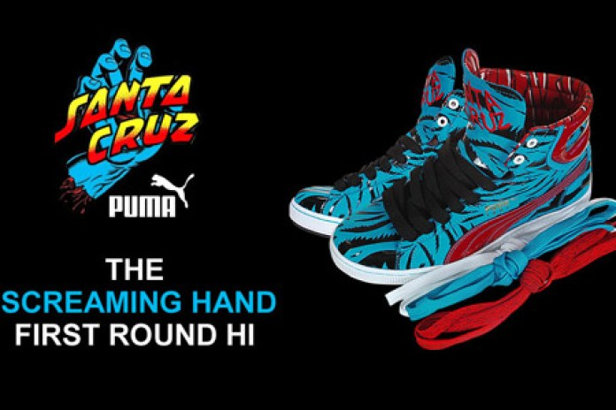 "Jim Phillips x Puma First Round ""Screaming Hand"""