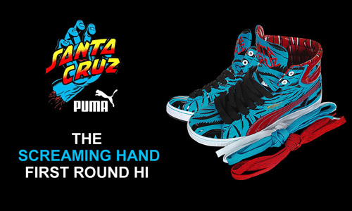 "Jim Phillips x Puma First Round ""Screaming Hand"""