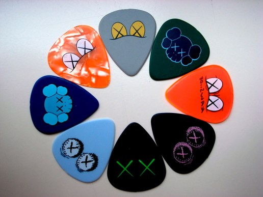 John Mayer x Kaws Guitar Picks