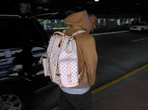 Kanye West's Custom Louis Vuitton Backpack