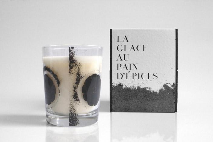 Kitsune Glace au Pain d'Epices Candle