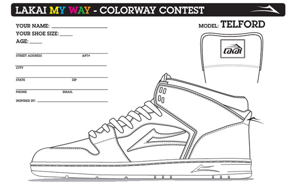 "Lakai ""My Way"" Colorway Contest"