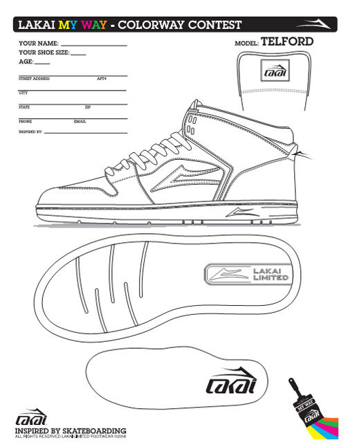 lakai my way colororway contest