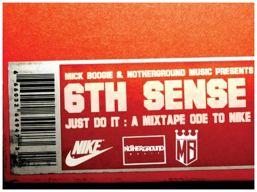 mick boogie x 6th sense just do it a mixtape ode to nike