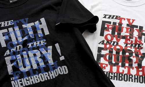 "Neighborhood ""The Filth and the Fury"" Tee"