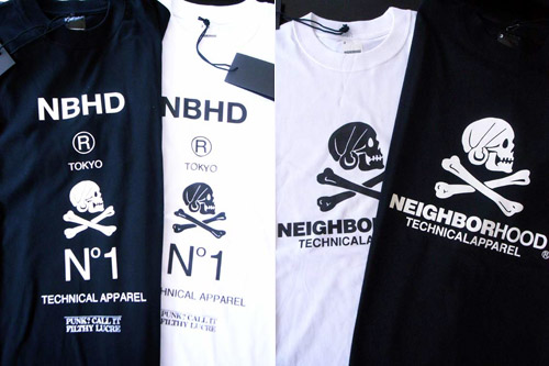 Neighborhood Tokyo Exclusive Tees