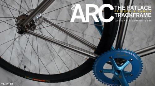 neimesis project x fatlace arc track bike