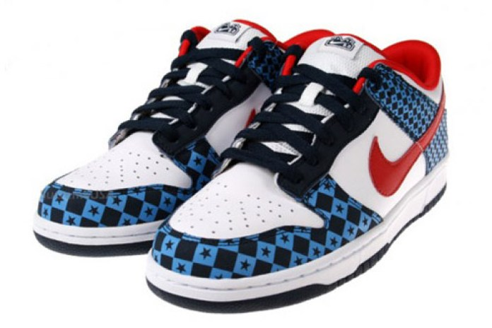 "Nike 6.0 Dunk Low ""Stars Red White Blue"""