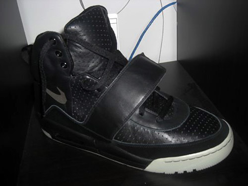 Nike Air Yeezy Black/Grey Colorway