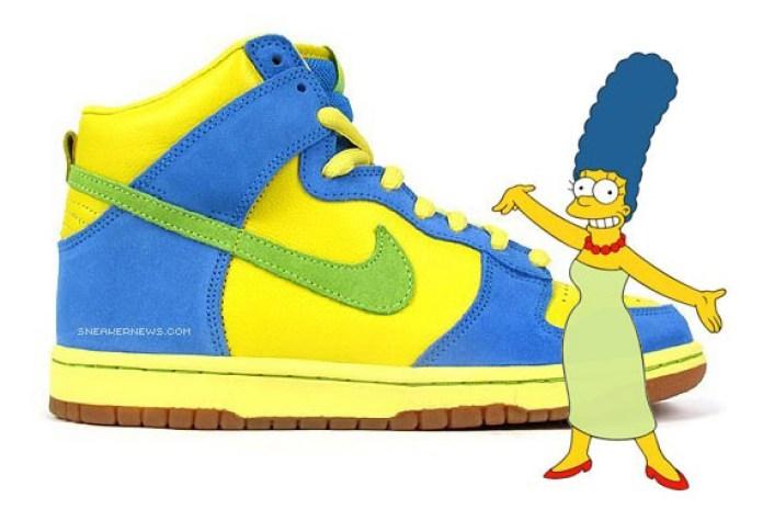 "Nike SB Dunk High ""Marge Simpson"""