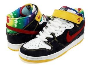 Nike SB Dunk Mid Tie Dye