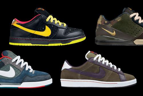 Nike SB July 2008 Releases