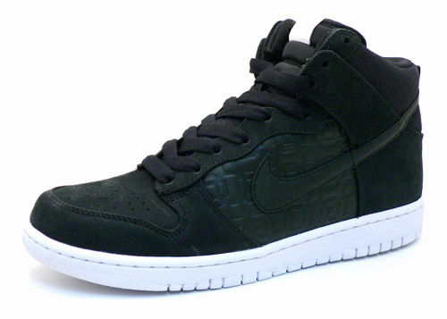Nike Dunk High Premium Black Octagon