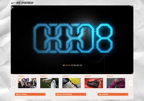 Nike Sportswear Website