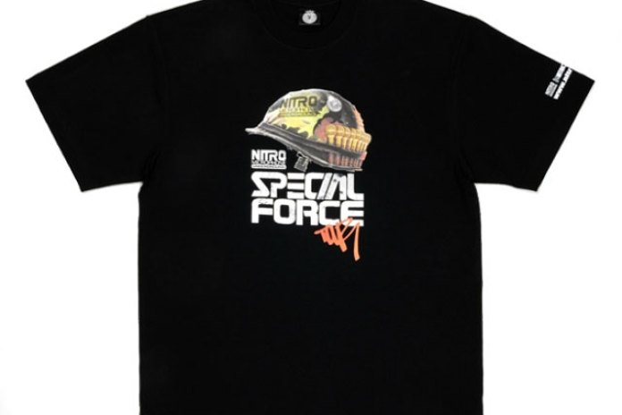 Nitro Microphone Underground Special Force Tour T-shirt