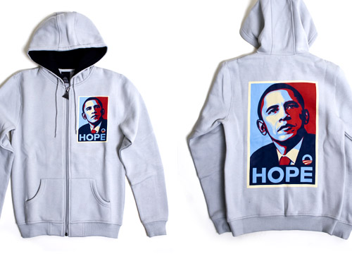 Obey x Upper Playground Obama Hope Hoodie