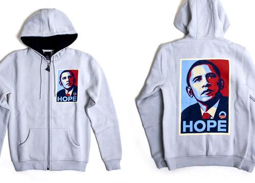 Obey x Upper Playground Obama Hope Hoodie