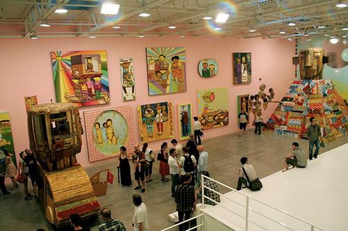 os gemeos too far too close exhibition