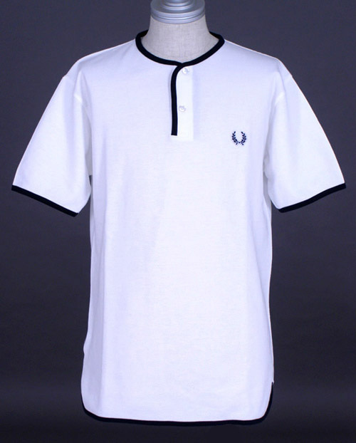paul weller x fred perry henley