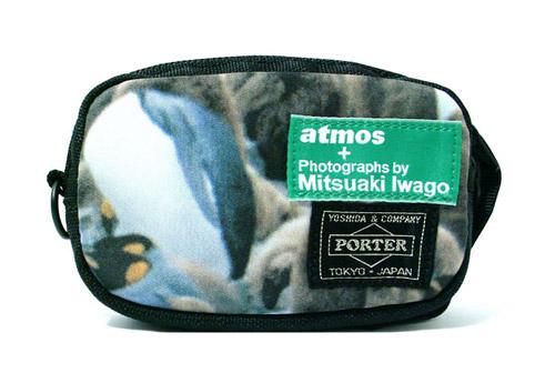 mitsuaki iwago x atmos x porter collection