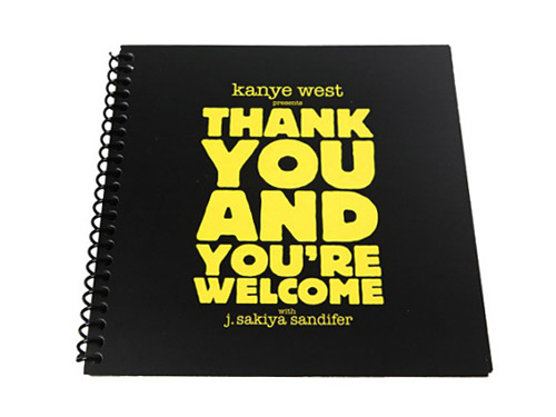 Thank You and You're Welcome by Kanye West