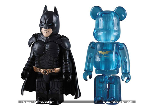 The Dark Knight Bearbricks & Kubricks