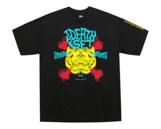 The Death Set x Stussy Tee