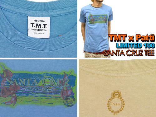 tmt x patti tee collection
