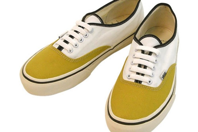 United Arrows x Vans Authentic