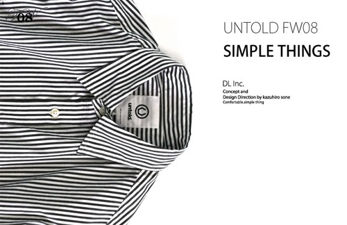 Untold 2008 Fall/Winter Collection