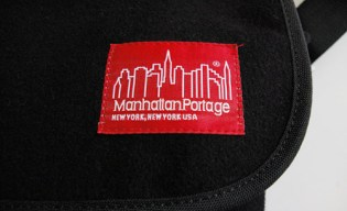 Victim x Manhattan Portage Wool Messenger Bag