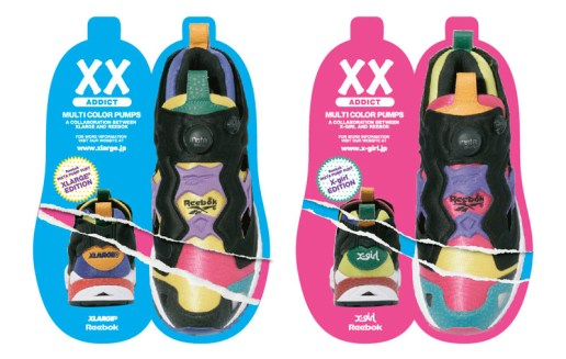 XLarge | X-Girl x Reebok Pump Fury