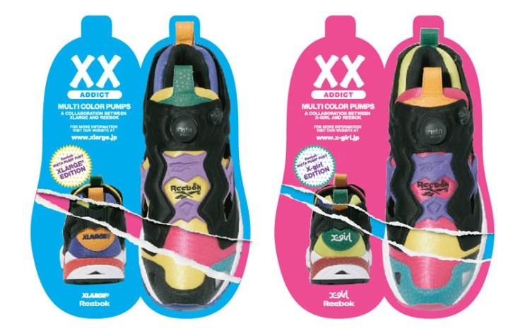 XLarge | X-Girl x Reebok Pump Fury