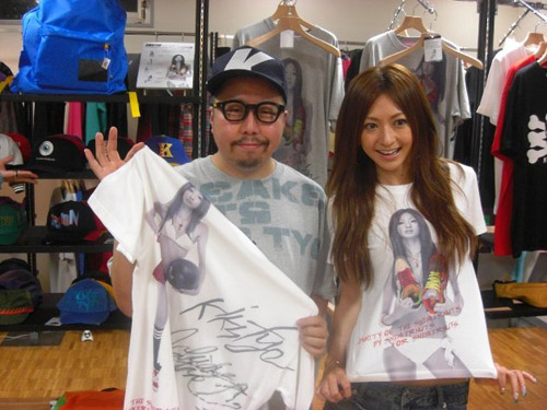 Yuko Ishida x KIKS TYO Tee Collection