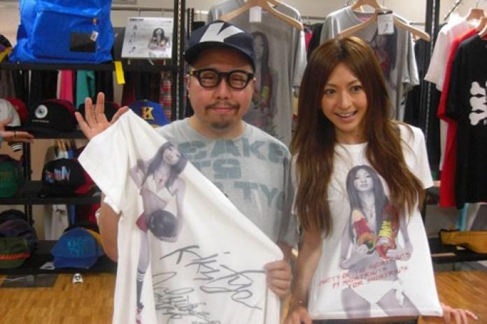 Yuko Ishida x KIKS TYO Tee Collection