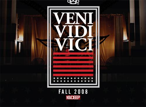 """10.Deep 2008 Fall """"Veni Vidi Vici"""" Collection - 1st Delivery"""