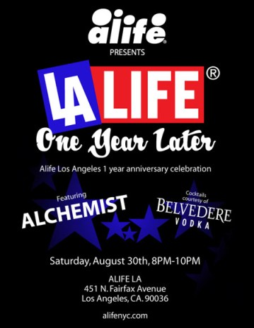 ALIFE Presents LALIFE - One Year Later
