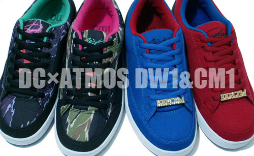 Atmos x DC Shoes New York/Tokyo Pack