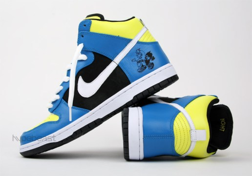 "A-Trak x Nike Dunk High ""Running Man"" Contest"