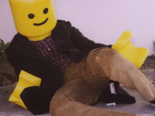 Band of Outsiders LEGO Installation